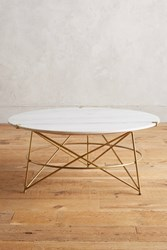 Anthropologie Betelline Coffee Table White