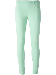 Blumarine Classic Leggings Green