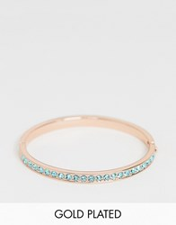 Ted Baker Clemara Rose Gold Plated Crystal Bracelet