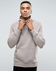 New Look Sweat With Funnel Neck In Beige Beige Black