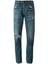 Citizens Of Humanity 'Corey' Slouchy Slim Jeans Blue
