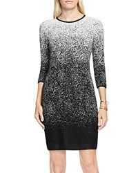 Vince Camuto Ombre Jacquard Sweater Dress New Ivory