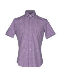 Agho Shirts Purple