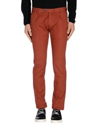 Zanella Trousers Casual Trousers Men Brick Red