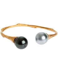 Samira13 Pearl Edges Bangle Metallic