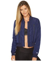 Alo Yoga Off Duty Bomber Jacket Rich Navy Coat