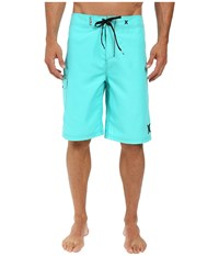 Hurley One And Only 22 Boardshorts Hyper Jade Men's Swimwear Blue