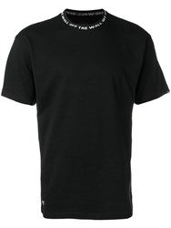 Vans Logo T Shirt Black