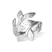 Chupi Wrap Your Laurels Around Me Ring In Silver
