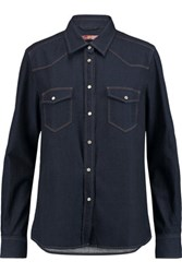 7 For All Mankind Denim Shirt Dark Denim