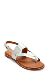 Cole Haan Anica Sandal Iridescent Leather