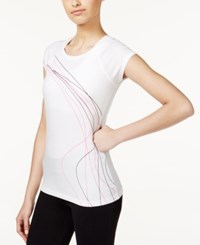 Ideology Graphic T Shirt Only At Macy's Bright White