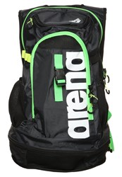 Arena Fastpack 2.1 Backpack Dark Grey Acid Lime White Black