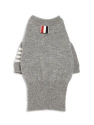 Thom Browne Cashmere Dog Sweater Grey