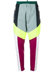 Dsquared2 Color Block Track Trousers White