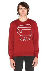 G Star Okisi Sweatshirt Red