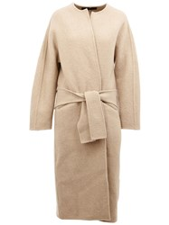 32 Paradis Sprung Freres Wrap Detail Coat Nude And Neutrals