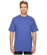 Pendleton S S Deschutes Pocket Shirt Brilliant Blue Mix Men's T Shirt