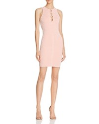 Guess Mirage Lace Up Dress Coral Cloud
