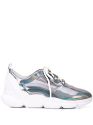 Suecomma Bonnie Holographic Sneakers Silver