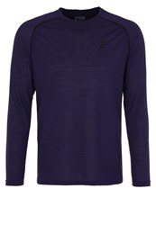 Your Turn Active Long Sleeved Top Astral Aura Dark Blue