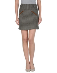 D.E.P.T Dept Mini Skirts Military Green