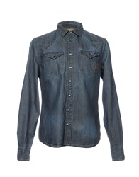 Uniform Denim Shirts Blue