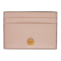 Versace Pink Medusa Card Holder