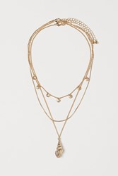 Handm H M 2 Pack Necklaces Gold