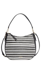 Kate Spade New York Cobble Hill Straw Mylie Raffia And Leather Hobo