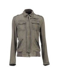 S.W.O.R.D. Leather Outerwear Grey