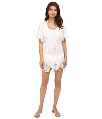 Seafolly Beach Smock Dress Cover Up White Women's Swimwear