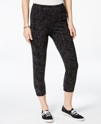 Styleandco. Style And Co. Sport Printed Capri Leggings Only At Macy's
