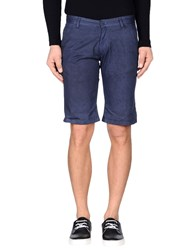 Sweet Years Trousers Bermuda Shorts Men Dark Blue