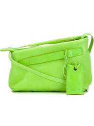 Marsa Ll 'Fantasmino' Cross Body Bag Green