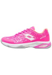 Lotto Viper Ultra Iii Clay Outdoor Tennis Shoes Fuxia Flash White Pink