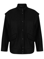 John Lewis Kin By Bomber Jacket Black