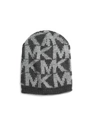 Michael Michael Kors Knitted Logo Hat Grey