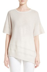 St. John Women's Collection Asymmetrical Cashmere Sweater