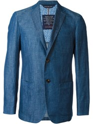 Jacob Cohen Two Button Blazer Blue