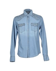Original Vintage Style Denim Denim Shirts Men