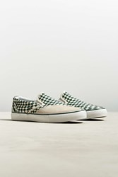 Clear Weather Dodds Checkered Sneaker White
