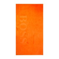 Hugo Boss Carved Beach Towel Pop Orange