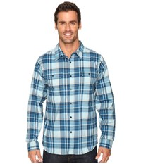 Mountain Hardwear Stretchstone Long Sleeve Shirt Ice Shadow Men's Long Sleeve Button Up Green