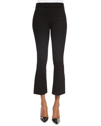 The Row Pull On Denim Leggings Black