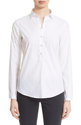 Women's Eleventy Long Sleeve Shirt