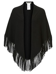 Betty Barclay Fringed Shawl Black