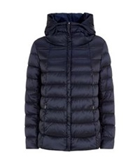 Maxmara Weekend Luchino Hooded Puffer Jacket Navy