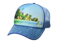 Prana Rio Ball Cap Island Blue Caps