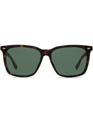 Hugo Boss Square Shaped Sunglasses Brown